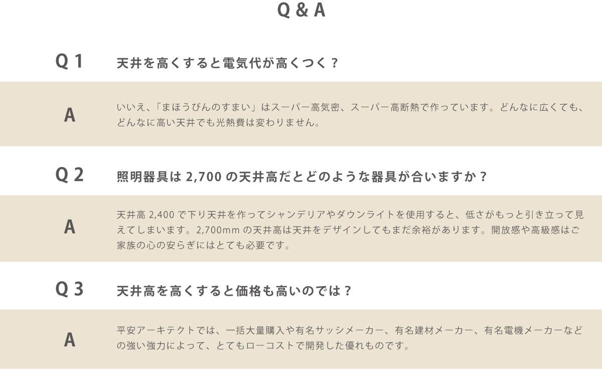 天井高Q&A
